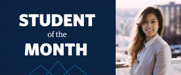 July Student of the Month: Linda Truong